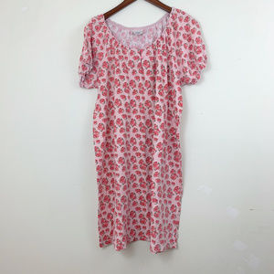 🌈 4 for $20 Cotton Rose Nightgown L